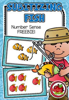 Subitizing Fish FREEBIE