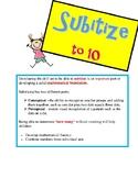 Subitizing Flash Cards 1-10