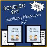 Subitizing Flashcard Bundled Set