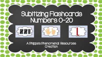 Subitizing Flashcards