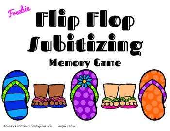 Subitizing - Flip Flops