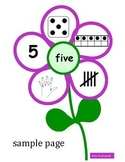 Subitizing Flowers (Counting, Numbers)