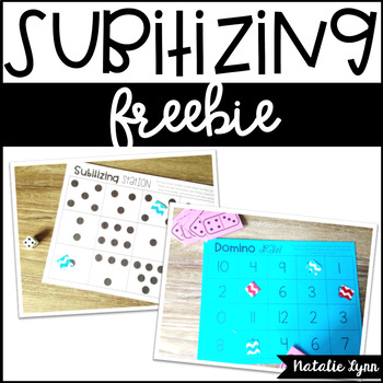 Subitizing Freebie