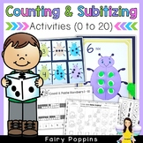 Subitizing & Counting Activities (Numbers 1 to 20)