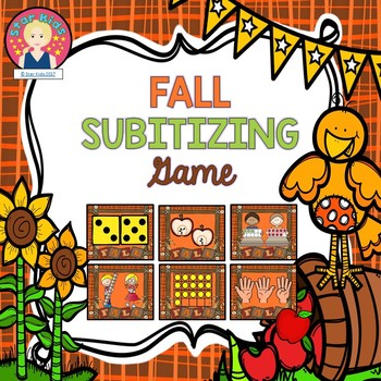 Subitizing Game - Autumn