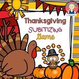 Thanksgiving Subitizing Game