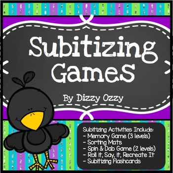 Subitizing Games