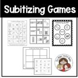 Subitizing Games: Bingo, Memory and Bump