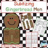 Subitizing Gingerbread Men