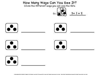 Subitizing:  How Many Ways?