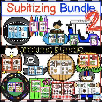 Subitizing MEGA Bundle #2