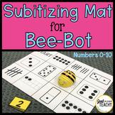 Subitizing Mat for Bee Bot Coding Robot