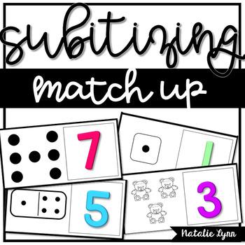 Subitizing Match Up