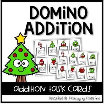 Subitizing Math - Addition - Christmas