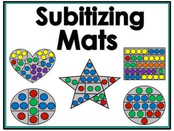 Subitizing Mats