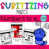 Subitizing Maze-Numbers to 10