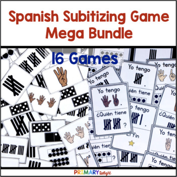 Spanish Subitizing Mega-Bundle