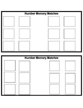 Subitizing Memory Game
