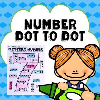 Subitizing Number Dot to Dot