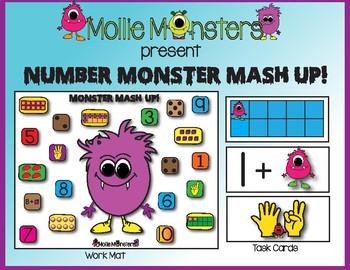 Subitizing:  Number Monster Mash Up!!