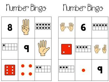 Subitizing (Number Sense) Centers