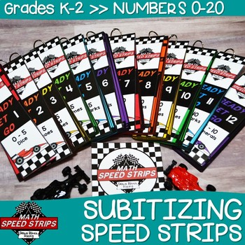 Subitizing (Number Sense) Numbers 0 to 20 | Math Speed Strips | Numeracy