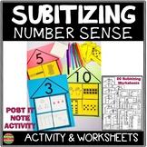 Subitizing Worksheets Number Sense