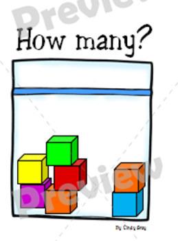 Subitizing Number Talk Cards ~ Quantities 2-8