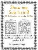 Subitizing Numbers 1-10 (Identifying numbers)