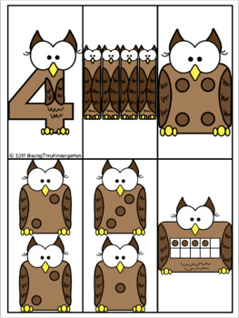 Subitizing Owls