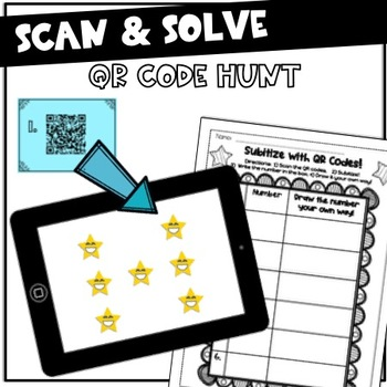Subitizing Pack! {Flash cards, QR Code Hunt, Around the Room & more!}
