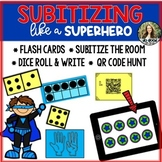 Subitizing Pack! {Flash cards, QR Code Hunt, Around the Ro