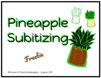 Subitizing - Pineapples