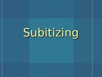 Subitizing Powerpoint presentations