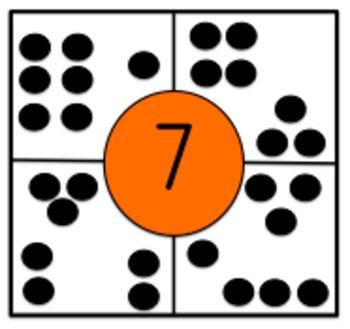 Subitizing Puzzles 1-10