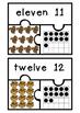 Subitizing Puzzles 11-20- Autumn Theme