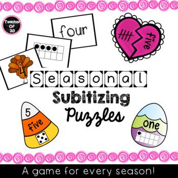 Subitizing Puzzles Bundle