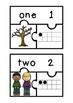 Subitizing Puzzles- Autumn Theme