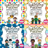 Subitizing Puzzles- Season Bundle