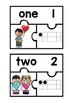 Subitizing Puzzles- Valentine Theme