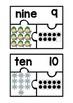 Subitizing Puzzles- Winter Theme