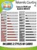 Subitizing Rekenreks Counting Math Clipart {Zip-A-Dee-Doo-Dah Designs}