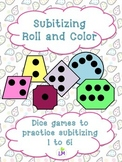 Subitizing Roll and Color