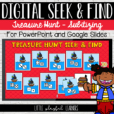 Subitizing Seek & Find Digital Game: Treasure Hunt