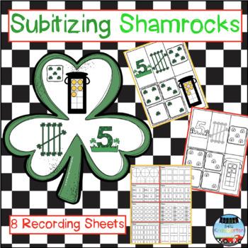 Subitizing Shamrocks