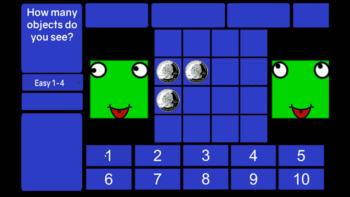 The Subitizing Smartboard Game Software
