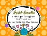 Subitizing Snails Game for young Learners