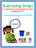 Subitizing Snap! A counting game for 0-5