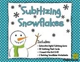 Subitizing Snowflakes - Interactive Digital Activity (iPad / Tablet / PC)