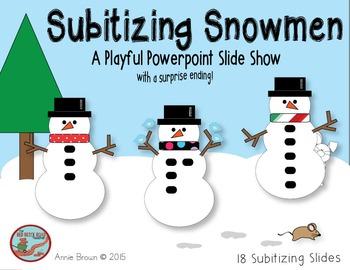 Subitizing Snowmen Powerpoint